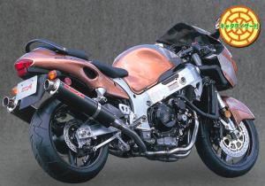 ヤマモトレーシング ~05' GSX1300R TI4-2-1-2 カーボン 品番:31300-42TCN ※受注生産(2、3週間)※注文後キャンセル不可【smtb-s】