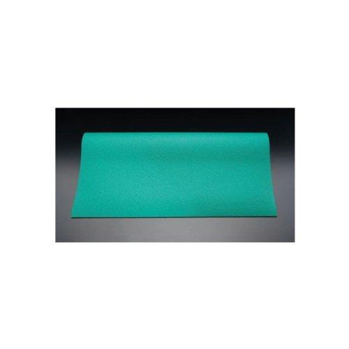 エスコ 1.0x5.0m/2.0mm 導電性マット(緑) (EA997RB-5)【smtb-s】