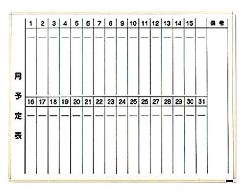 TRUSCO TRUSCO 月行事ボード縦書き白600×900 WGL-222S 2885018【smtb-s】