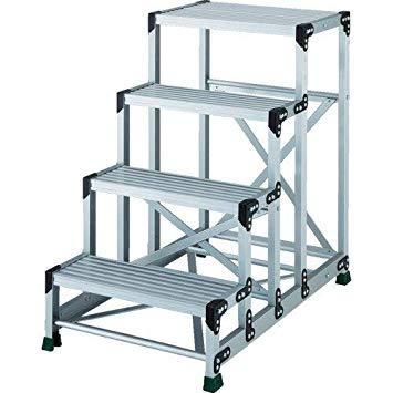 TSF4610TRUSCO アルミ合金製作業台 4段 高さ1.00m 天板600×4008557679【smtb-s】