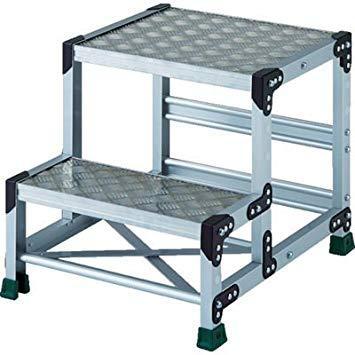 TSFC255TRUSCO アルミ合金製作業台 縞鋼板 2段 高さ0.25m 500X4008557682【smtb-s】