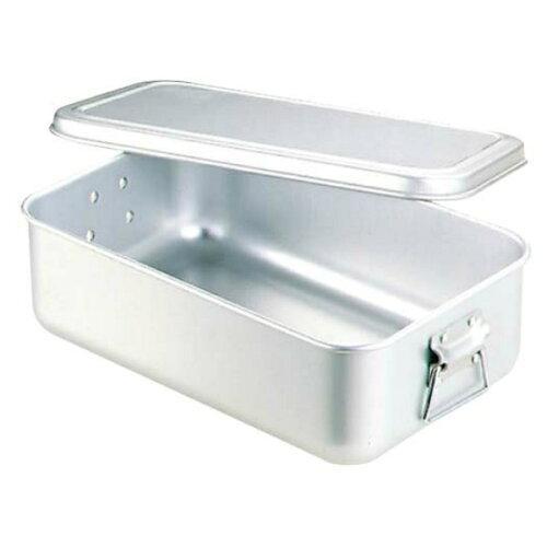 アズワン(As One) アルマイト 蒸気用 炊飯鍋 蓋付 6.3L 3.5升用【smtb-s】