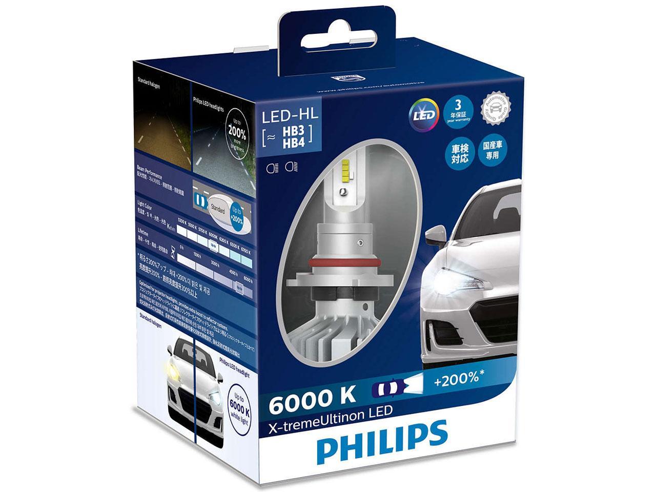 PHILIPS(フィリップス) PH LEDヘッド60K HB  11005XUX2【smtb-s】