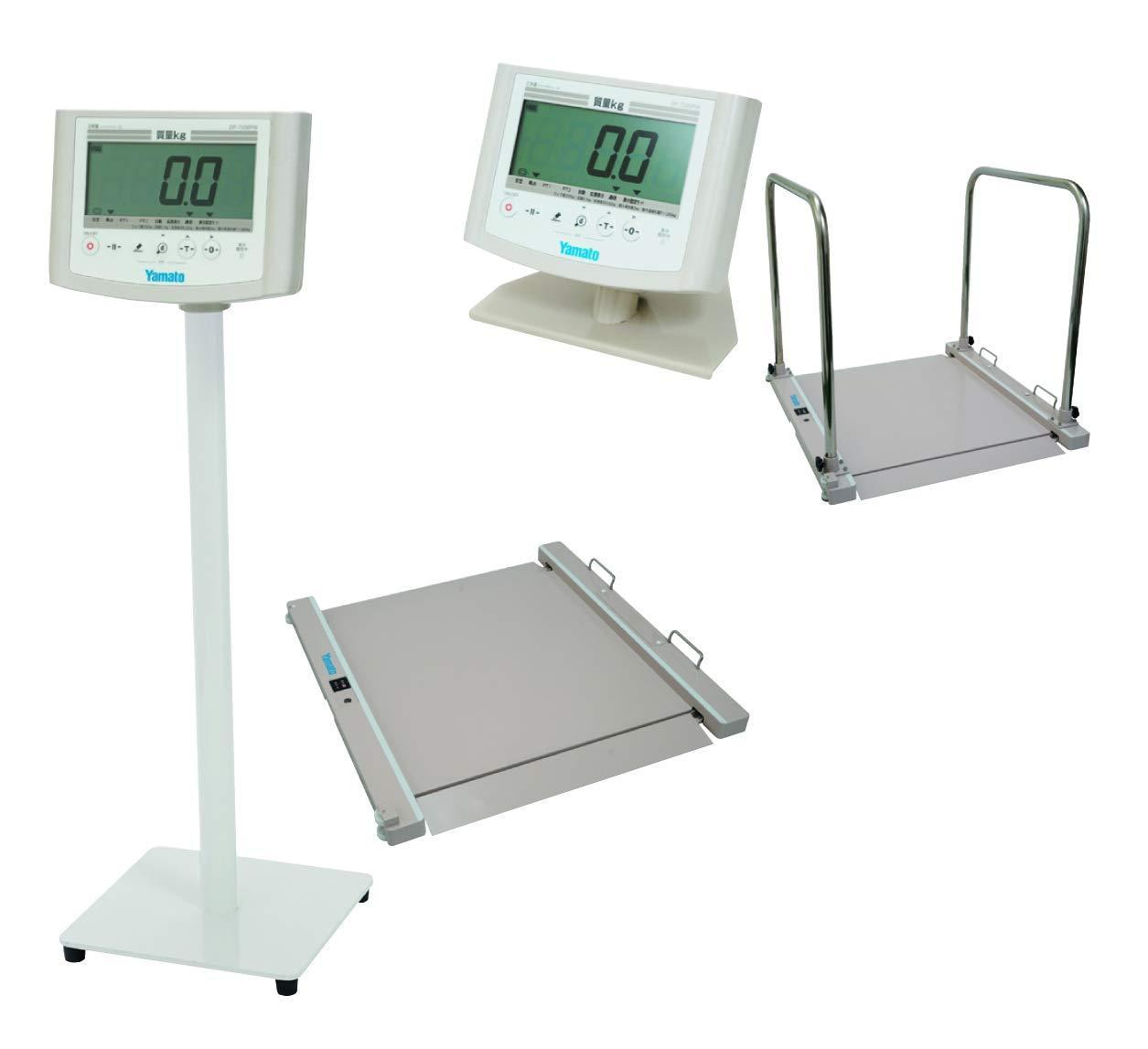 大和製衡 無線式バリアフリー体重計(検定品) DP-7500PW【smtb-s】