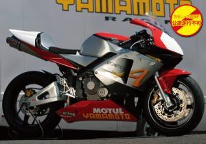 ヤマモトレーシング 03'~04' CBR600RR TI4-2-1 チタン レース 品番:10605-21TTR ※受注生産(2、3週間)※注文後キャンセル不可【smtb-s】