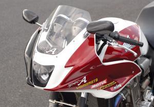 ヤマモトレーシング CB1300SF アッパーカウルASSY 品番:00012-23【smtb-s】