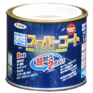 送料無料 アサヒペン 水性スーパーコート 1 ツヤ消し白 保障 5L 予約販売品 smtb-s