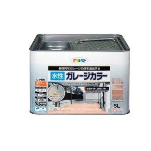 アサヒペン 水性ガレージカラー 5L サハラゴールド【smtb-s】