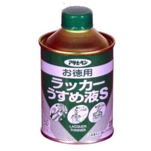 アサヒペン お徳用ラッカーうすめ液S ストア ◆セール特価品◆ 220ML