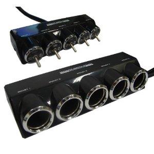 送料無料 優先配送 カシムラ KX146 セパレートスイッチ5連ソケット 高品質