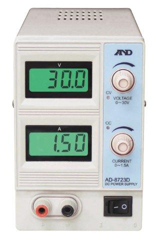 A&D(エーアンドデー) 直流安定化電源 30V-1.5A AD-8723DQR0000811-5314-11【smtb-s】