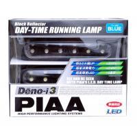 PIAA (ピア) PIAA LEDデイタイムランプ Deno-i 1 スーパー12連ブラックリフレクター 12V ブルー光 (L-223B)【smtb-s】