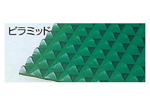 テラモト ビニール長マット ピラ 緑 91cm×20m MR1411561【smtb-s】