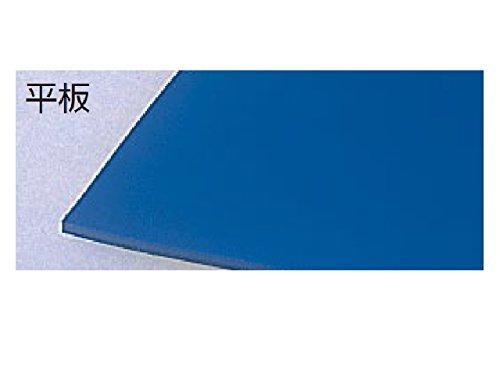テラモト ビニール長マット 平板 青 91cm×20m MR1412563【smtb-s】