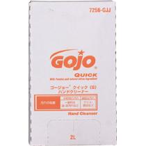 送料無料 GOJO ゴージョー クイック 高額売筋 付与 S ディスペンサ用 ハンドクリーナー 2000ml 7256
