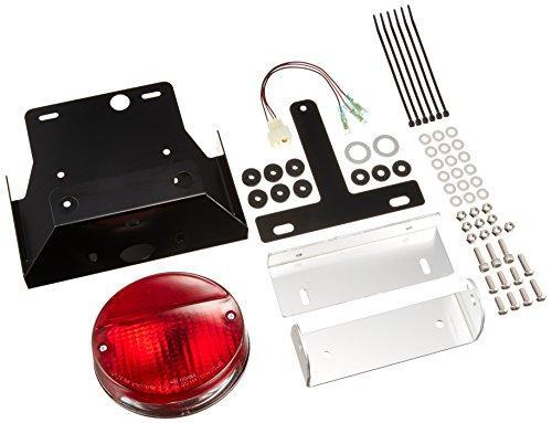 【送料無料】 POSH ZEP400カイ NEW Z2フェンダ-レスキット レッド LEDテール (031193-LR)【smtb-s】