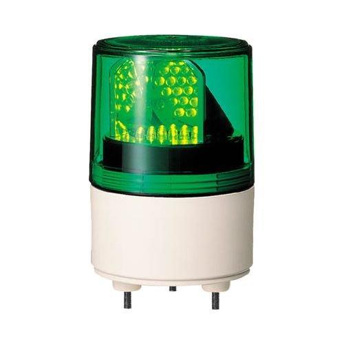 パトライト RLE型 LED超小型回転灯 Φ82 RLE-100-G 3239543【smtb-s】