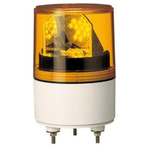 パトライト RLE型 LED超小型回転灯 Φ82 RLE-100-Y 3239560【smtb-s】