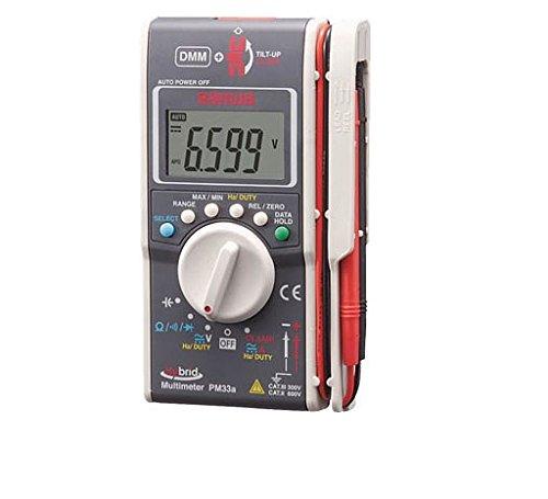 三和電気計器 SANWA ハイブリッドミニテスタ ケース付(マルチメータ+クランプメータ) PM33AC【smtb-s】