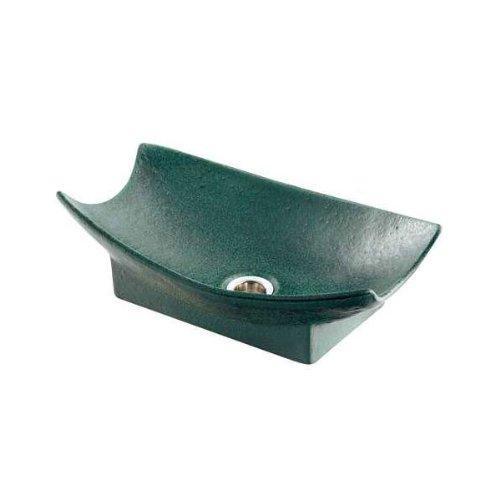 カクダイ 舟型手水鉢(濃茶) 624-934【smtb-s】