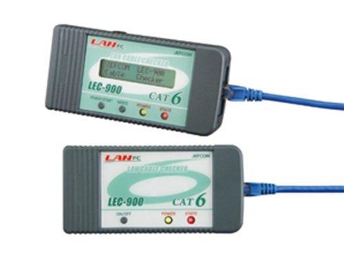 デンサン/ジェフコム ジェフコム LEC-900 LANケーブルチェッカー 管理コード:51030【smtb-s】