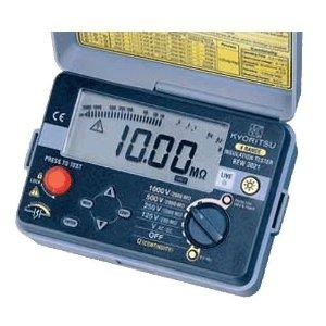 共立電気計器 キューメグ デジタル式 4レンジ絶縁抵抗計 3022【smtb-s】