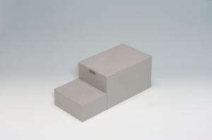 城東テクノ CUB-6040 400×900×350(175)mm小ステップあり 【居住地のみのお届け】【smtb-s】