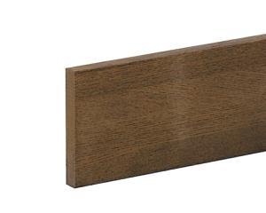 送料無料 美品 ハイロジック 特別セール品 手摺り用ベースプレート ミディアムオーク 100×15×2000ミリ
