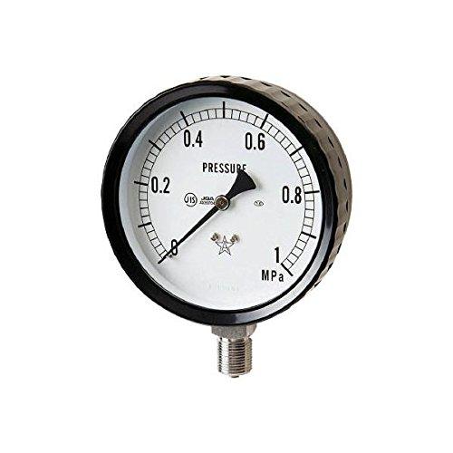 右下精器製造 ステンレス圧力計 G411-261-0.4MP 3328163【smtb-s】