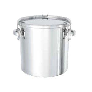 受注生産品 送料無料 日東金属工業 特価キャンペーン 65LNCG089401-12-8182-04 耐食性に優れた把手付き密閉式タンク
