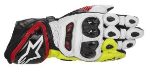 Alpinestars GP TECH レザーグローブ BK-RD-YLW FLUO S【smtb-s】