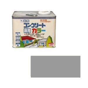 ニッペホームプロダクツ ニッペ 水性コンクリ-トカラー 7L つやありライトグレー【smtb-s】