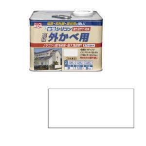 ニッペホームプロダクツ ニッペ 水性シリコン外かべ用 8K ホワイト【smtb-s】