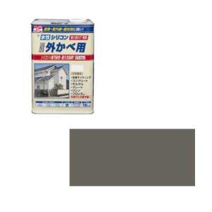 ニッペホームプロダクツ ニッペ 水性シリコン外かべ用 16K アーバングレー【smtb-s】