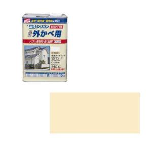 ニッペホームプロダクツ ニッペ 水性シリコン外かべ用 16K アイボリー【smtb-s】