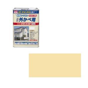 ニッペホームプロダクツ ニッペ 水性シリコン外かべ用 16K クリーム【smtb-s】