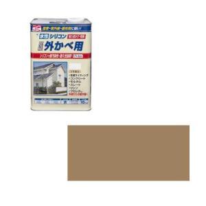 ニッペホームプロダクツ ニッペ 水性シリコン外かべ用 16K タイルベージュ【smtb-s】