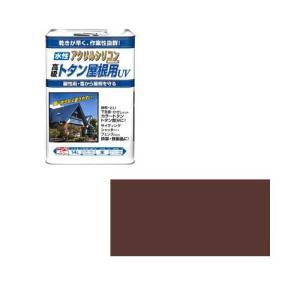 ニッペホームプロダクツ ニッペ 水性トタン屋根用UV 14L 赤茶【smtb-s】