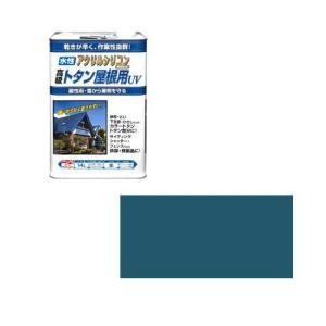 ニッペホームプロダクツ ニッペ 水性トタン屋根用UV 14L 青【smtb-s】