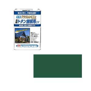 ニッペホームプロダクツ ニッペ 水性トタン屋根用UV 14L 緑【smtb-s】