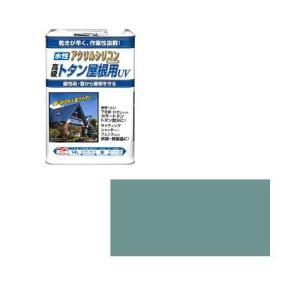 ニッペホームプロダクツ ニッペ 水性トタン屋根用UV 14L ねずみ【smtb-s】