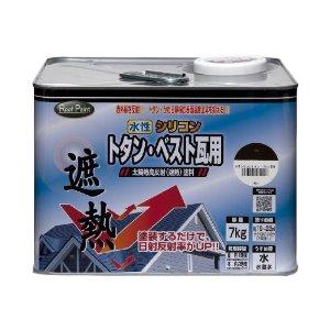 ニッペホームプロダクツ ニッペ 水性シリコンベスト瓦用 7L ブラックチョコレート【smtb-s】