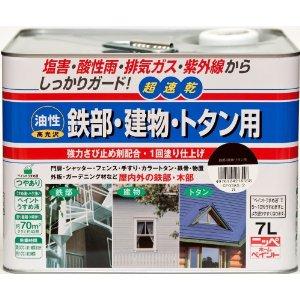 ニッペホームプロダクツ ニッペ 油性鉄部・建物・トタン用 7L ホワイト【smtb-s】