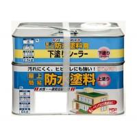 ニッペホームプロダクツ ニッペ 水性屋上防水塗料セット 8.5K グリーン【smtb-s】