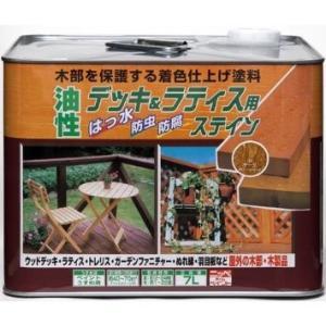 ニッペホームプロダクツ ニッペ 油性デッキ&ラティス用 7L オーク【smtb-s】