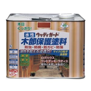 ニッペホームプロダクツ ニッペ 水性ウッディガード 7L ウォルナット【smtb-s】