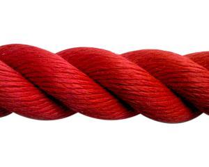 まつうら工業 スパンシーカラーロープ36ミリ(赤)20M ドラム巻【smtb-s】