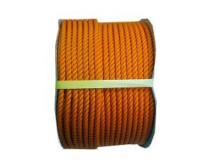 まつうら工業 PEロープ 12ミリ オレンジ100M ドラム巻【smtb-s】