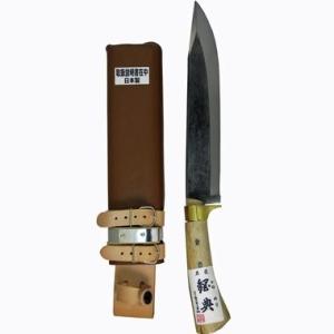 鋼典 鋼付山鉈 顎付コブ柄 和釘 C-30【smtb-s】
