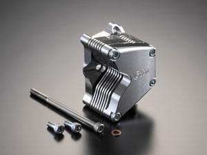 Gクラフト G37020 アルミビレットオイルクーラー横型エンジン用7段【smtb-s】